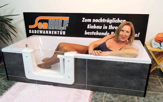 Bild zeigt Badewannentur von InnSAN