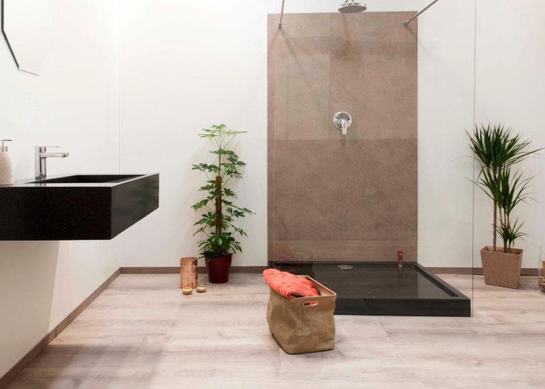 Bild zeigt fugenloses Bad