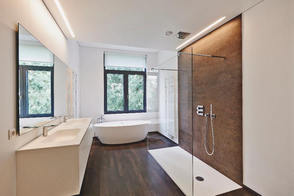 Fugenloses Badezimmer