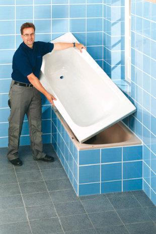 Bild zeigt Demontage Badewanne